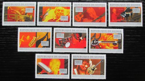 Poštovní známky Guinea 2010 Hudební nástroje Mi# 7239-47 Kat 18€