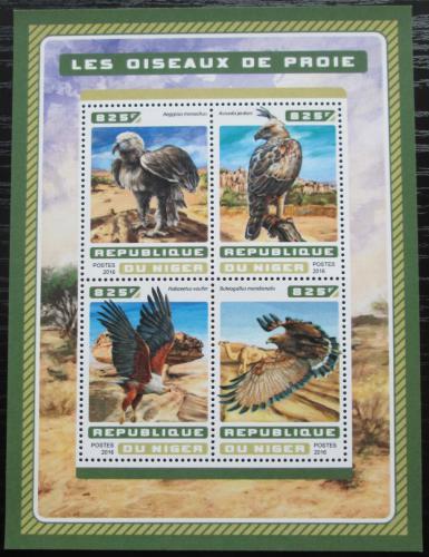 Poštovní známky Niger 2016 Dravci Mi# 4607-10 Kat 13€