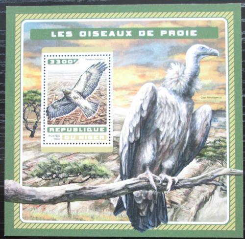 Poštovní známka Niger 2016 Dravci Mi# Block 626 Kat 13€