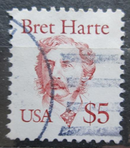 Poštovní známka USA 1987 Bret Harte, spisovatel Mi# 1941 Kat 7€