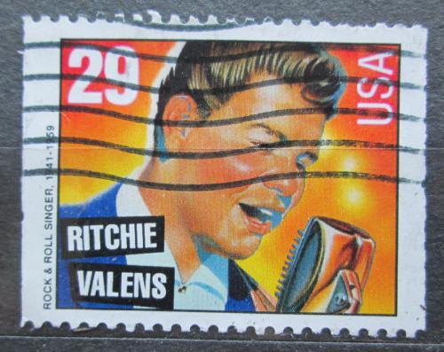 Poštovní známka USA 1993 Ritchie Valens, zpìvák Mi# 2379