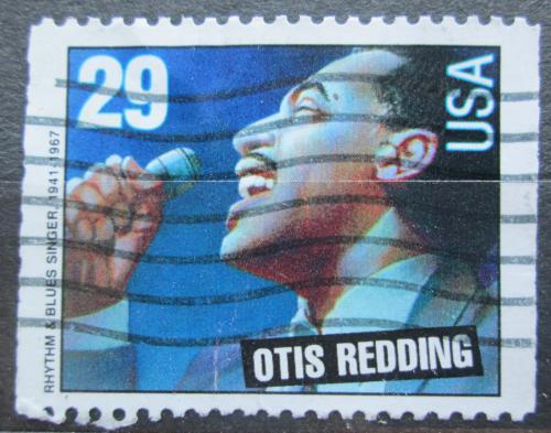 Poštovní známka USA 1993 Otis Redding, zpìvák Mi# 2382