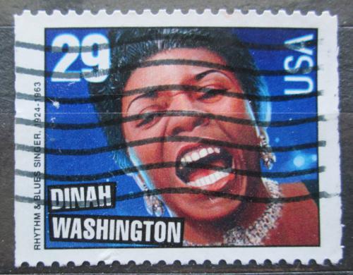 Poštovní známka USA 1993 Dinah Washington, zpìvaèka Mi# 2381