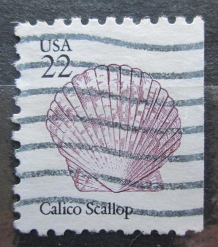 Poštovní známka USA 1985 Argopecten gibbus Mi# 1744 D