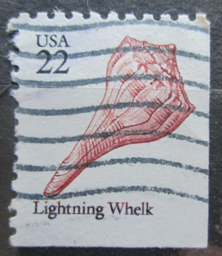 Poštovní známka USA 1985 Busycon contrarium Mi# 1745 E