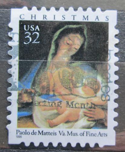 Poštovní známka USA 1996 Vánoce, umìní, Paolo de Matteis Mi# 2798