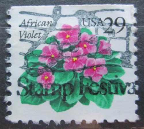 Poštovní známka USA 1993 Africká fialka Mi# 2404 D
