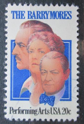Poštovní známka USA 1982 Slavní herci Mi# 1592