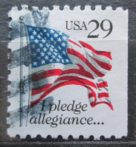 Poštovní známka USA 1992 Státní vlajka Mi# 2314 D