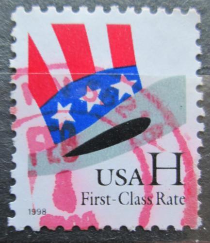Poštovní známka USA 1998 Státní vlajka Mi# 3059