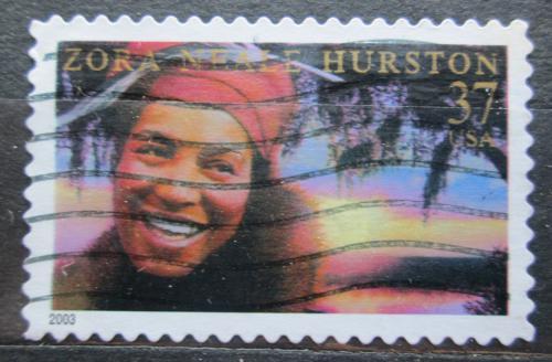Poštovní známka USA 2003 Zora Neale Hurston, spisovatelka Mi# 3718