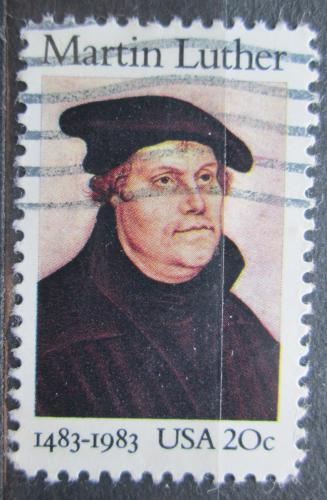 Poštovní známka USA 1983 Martin Luther Mi# 1669