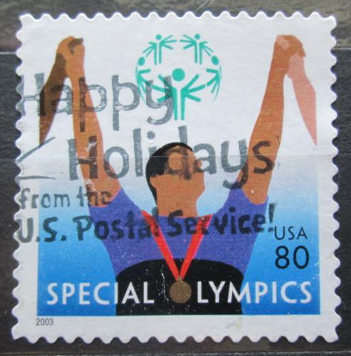 Poštovní známka USA 2003 Paralympiáda Mi# 3720