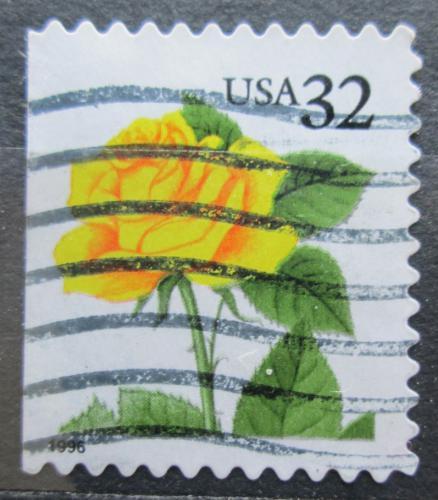 Poštovní známka USA 1996 Rùže Mi# 2795 BD