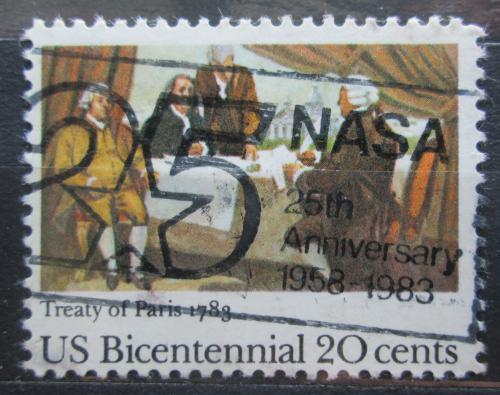 Poštovní známka USA 1983 Nezávislost, 200. výroèí Mi# 1650