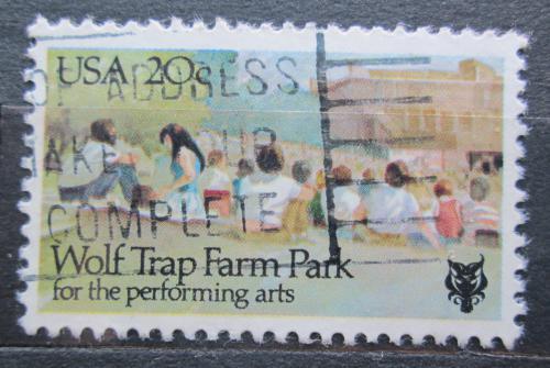 Poštovní známka USA 1982 Trampský kemp Mi# 1599