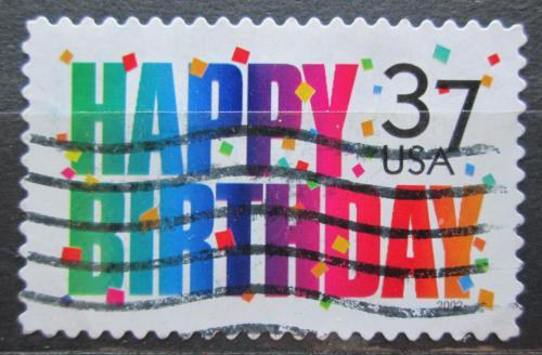 Poštovní známka USA 2002 Narozeniny Mi# 3517