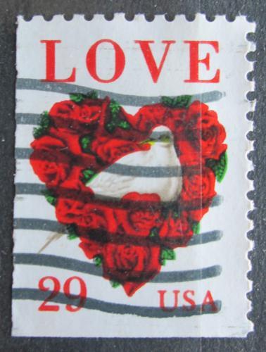 Poštovní známka USA 1994 Láska Mi# 2437 D