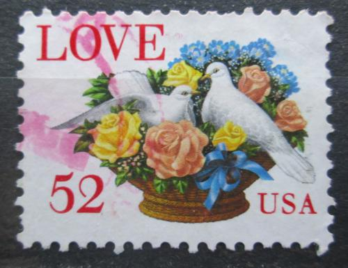 Poštovní známka USA 1994 Láska Mi# 2438 A