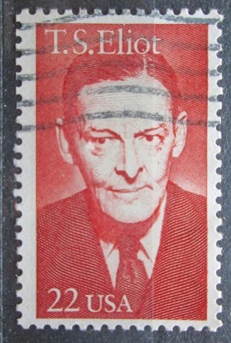 Poštovní známka USA 1986 Thomas Stearns Eliot, spisovatel Mi# 1851