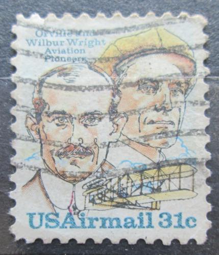 Poštovní známka USA 1978 Bratøi Wrightové Mi# 1362