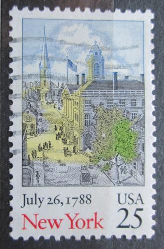 Poštovní známka USA 1988 New York Mi# 1992