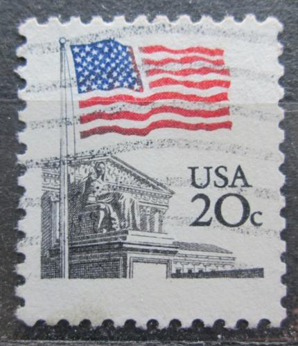 Poštovní známka USA 1981 Státní vlajka Mi# 1522