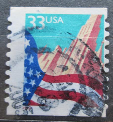 Poštovní známka USA 1999 Státní vlajka Mi# 3091