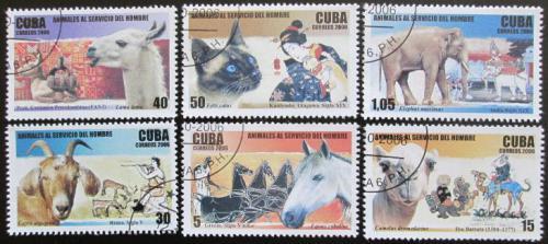 Poštovní známky Kuba 2006 Domácí zvíøata Mi# 4848-53