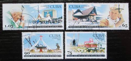 Poštovní známky Kuba 2006 Papež Jan Pavel II. Mi# 4781-84 Kat 6.50€