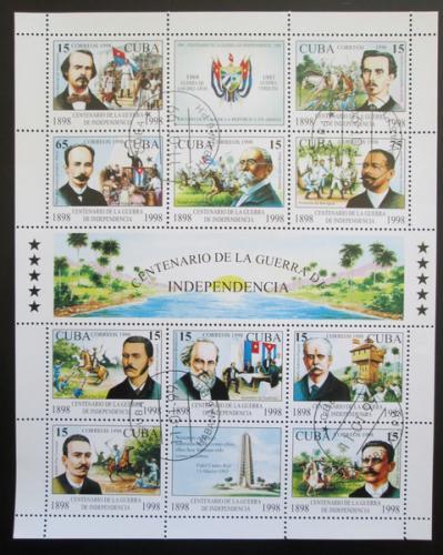 Poštovní známky Kuba 1998 Válka za nezávislost Mi# 4167-76