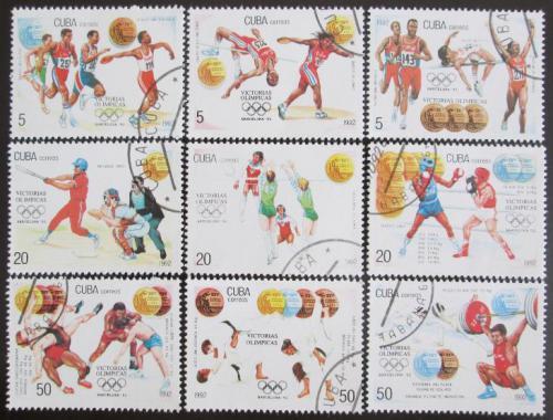 Poštovní známky Kuba 1992 LOH Barcelona Mi# 3614-22