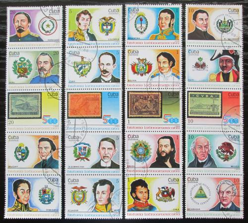 Poštovní známky Kuba 1988 Osobnosti boje o nezávislost Mi# 3227-46