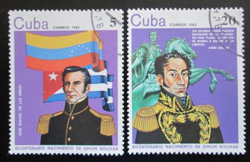 Poštovní známky Kuba 1983 Osobnosti Mi# 2741-42