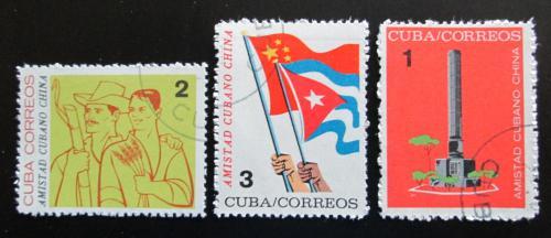 Poštovní známky Kuba 1964 Pøátelství s Èínou Mi# 890-92
