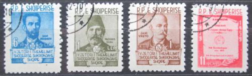 Poštovní známky Albánie 1960 Osobnosti Mi# 599-602 Kat 4.50€