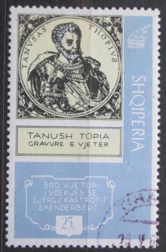 Poštovní známka Albánie 1968 Tanush Topia Mi# 1241