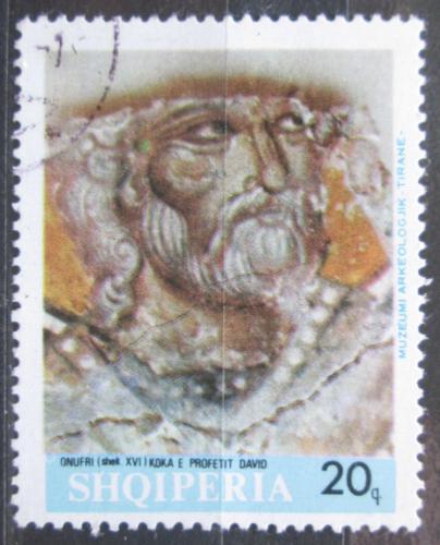 Poštovní známka Albánie 1967 Freska, Onufri Mi# 1202