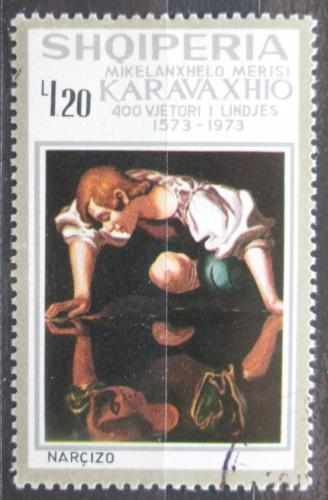 Poštovní známka Albánie 1973 Umìní, Caravaggio Mi# 1646