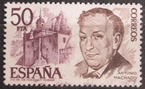 Poštovní známka Španìlsko 1978 Antonio Machado, básník Mi# 2351