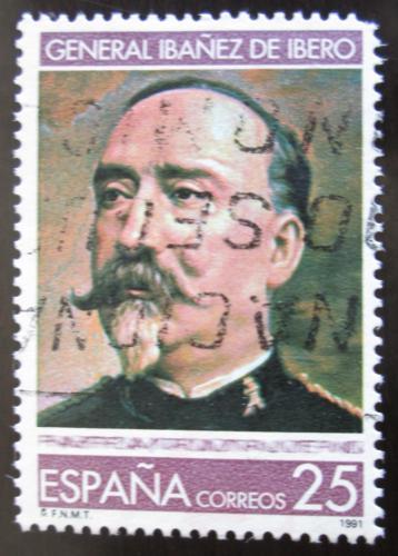 Poštovní známka Španìlsko 1991 Carlos Ibáñez de Ibero, geodet Mi# 3023