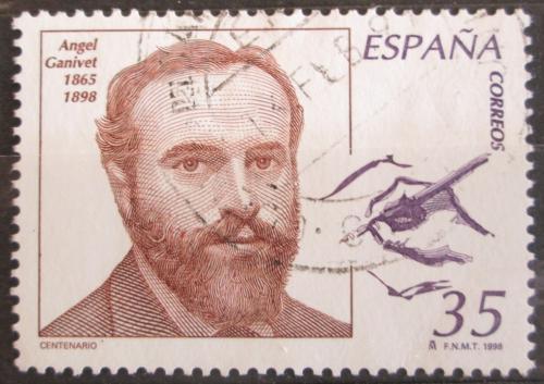 Poštovní známka Španìlsko 1998 Ángel Ganivet, spisovatel a diplomat Mi# 3422