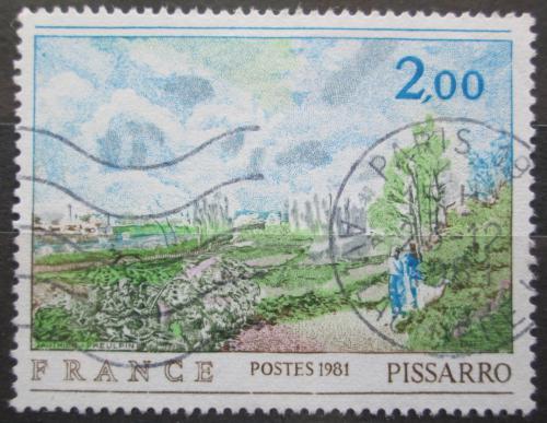 Poštovní známka Francie 1981 Umìní, Camille Pissarro Mi# 2258