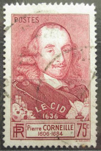 Poštovní známka Francie 1937 Pierre Corneille, básník Mi# 341