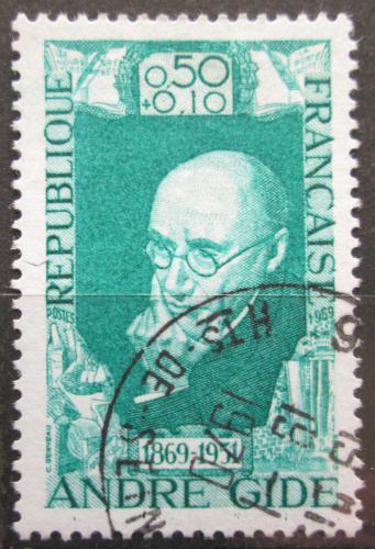 Poštovní známka Francie 1969 André Gide, spisovatel Mi# 1671