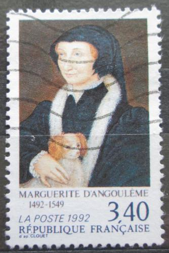 Poštovní známka Francie 1992 Markéta z Anjou, anglická královna Mi# 2891