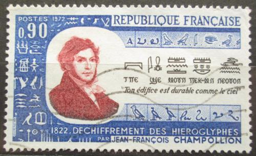 Poštovní známka Francie 1972 Jean-François Champollion Mi# 1811