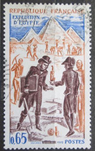 Poštovní známka Francie 1972 Expedice do Egypta Mi# 1813