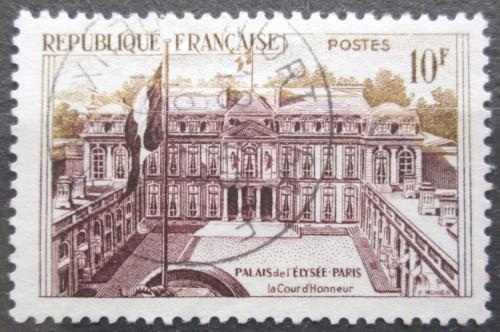 Poštovní známka Francie 1957 Elysejský palác Mi# 1161