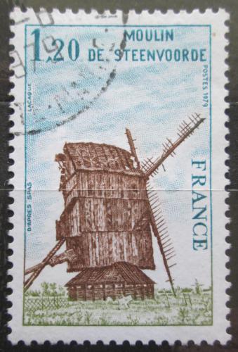 Poštovní známka Francie 1979 Mlýn Steenvoorde Mi# 2152